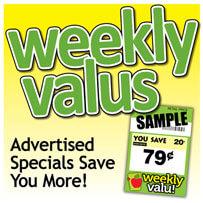 Weekly Valu Advertisement