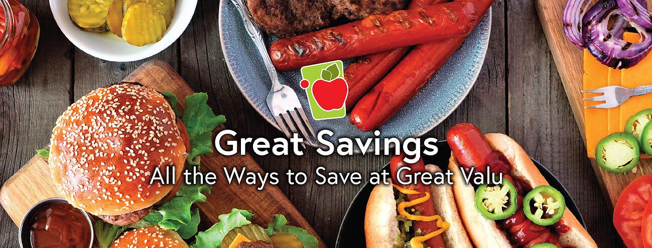 Hamburger and Hotdog Platter