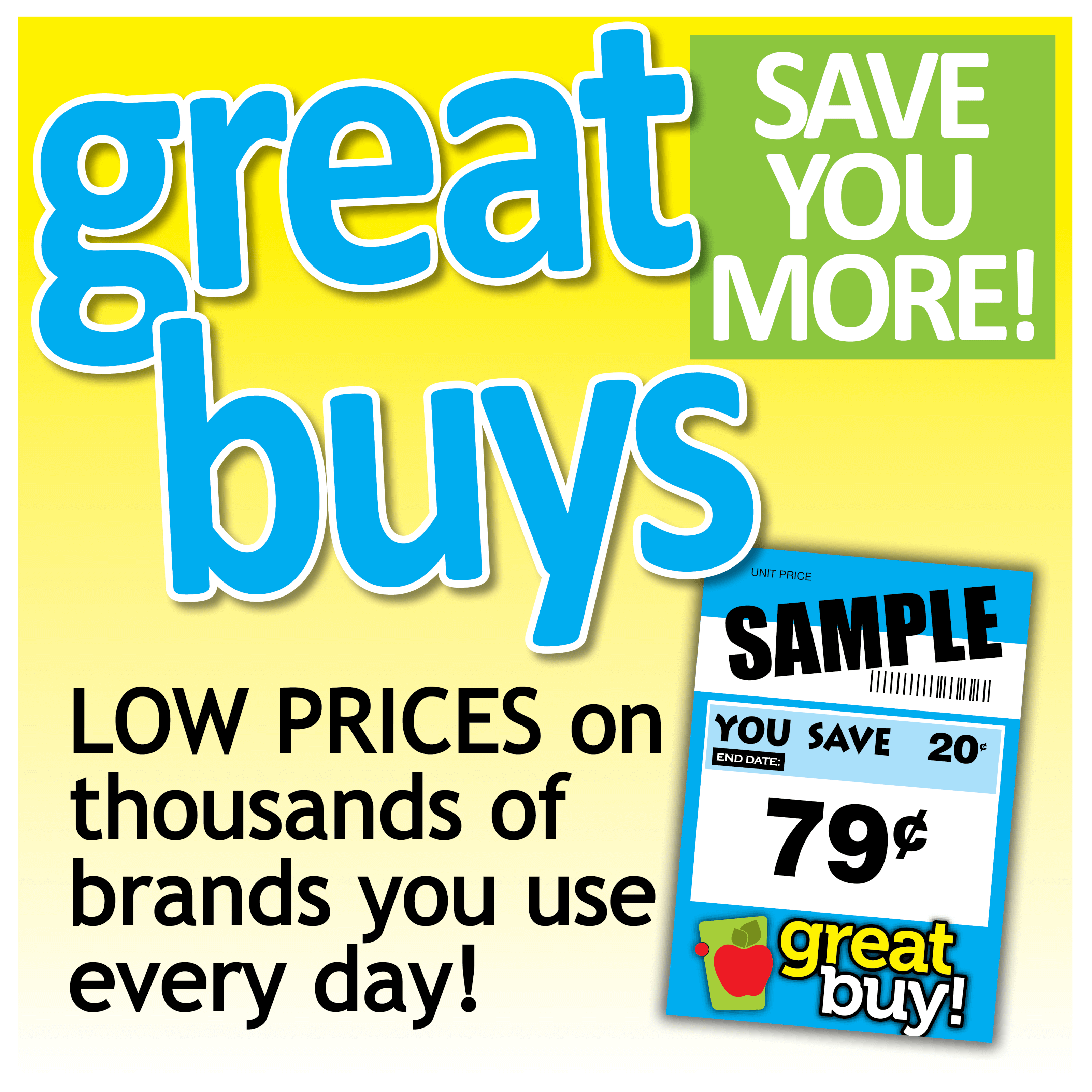 Graphic of Great Buy card